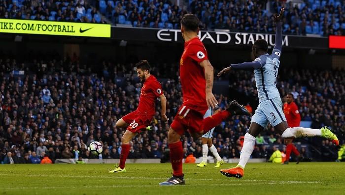 Adam Lallana, Liverpool, Manchester City, Roberto Firmino, EPL