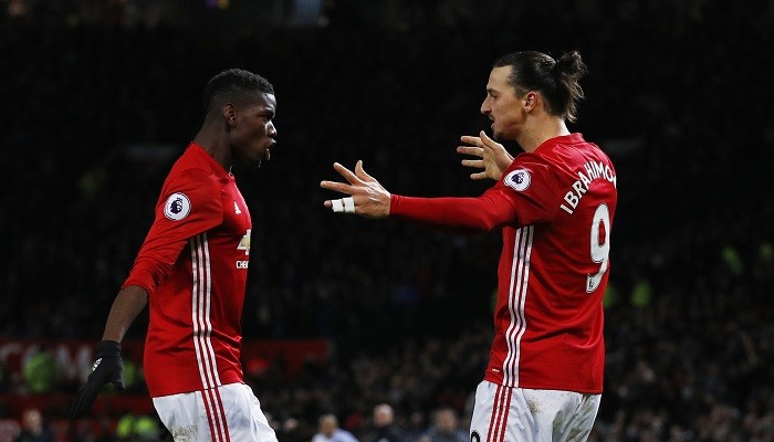Paul Pogba, Zlatan Ibrahimovic, Manchester United, Hull City, English PL