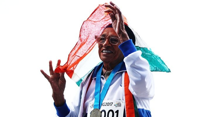 Man kaur, wins her 17th medal at the World Masters Games in Auckland