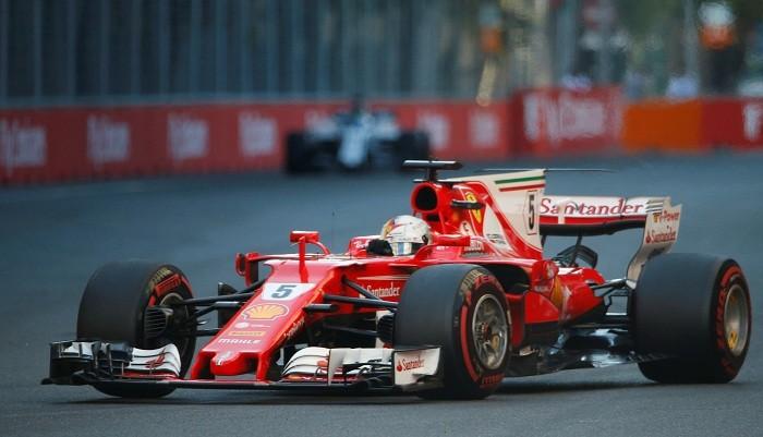 Azerbaijan Grand Prix 2017, Formula One 2017, Lewis Hamilton, Sebastian Vettel, Valtteri Bottas, Kimi Raikkonen