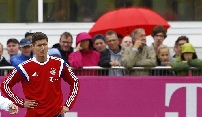 Robert Lewandowski Bayern Munich Borussia Dortmund