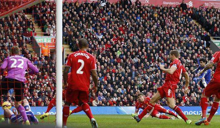 Diego Costa Chelsea Liverpool