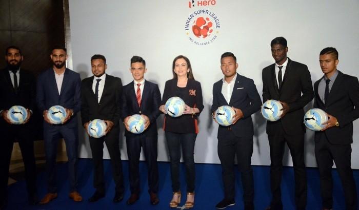 ISL 2017, India Super League, Nita Ambani, Sunil Chhetri