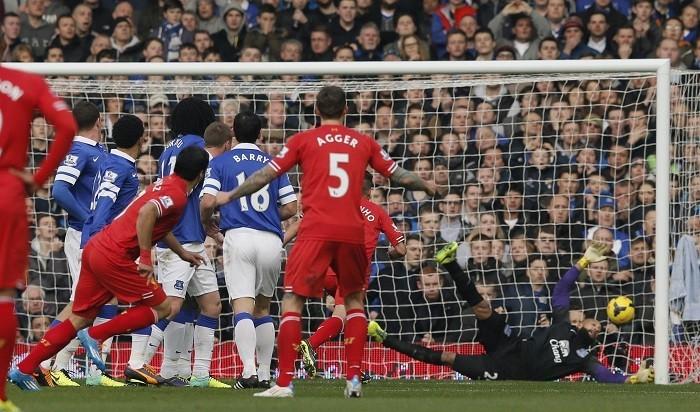 Liverpool Suarez Everton