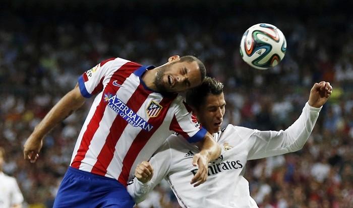 Mario Suarez Atletico Madrid Cristiano Ronaldo Real Madrid