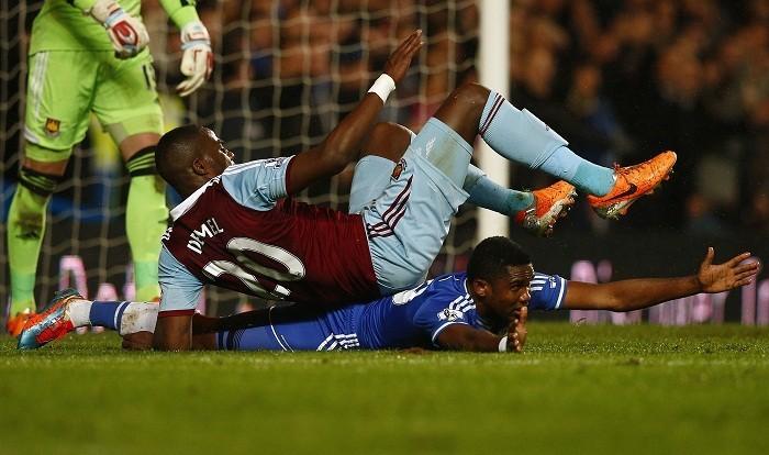 Guy Demel Samuel Eto'o West Ham Chelsea