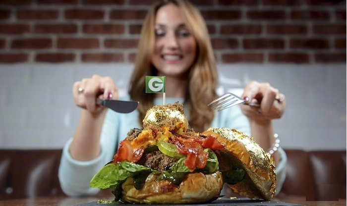 Glamburger, world's most expensive burger