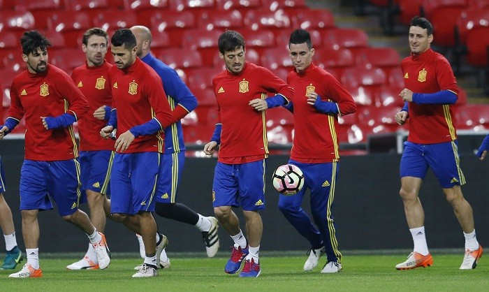 Spain David Silva Nolito Monreal