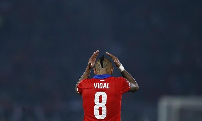 Arturo Vidal Chile