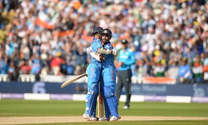 Shikhar Dhawan, Ajinkya Rahane, India team For Champions Trophy