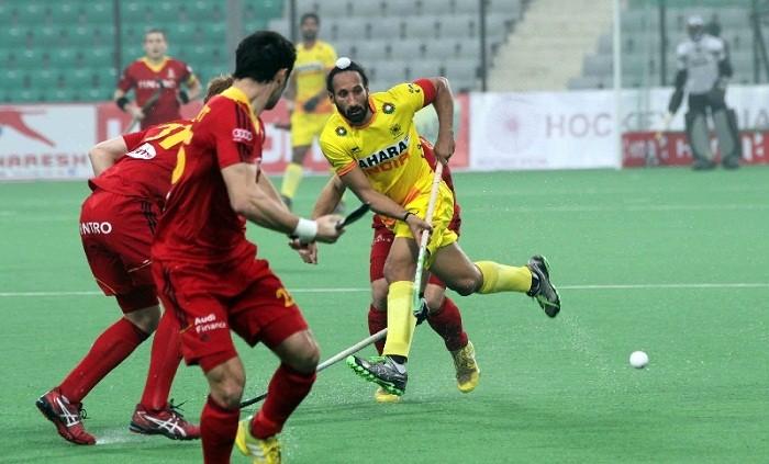 Sardar Singh India Belgium