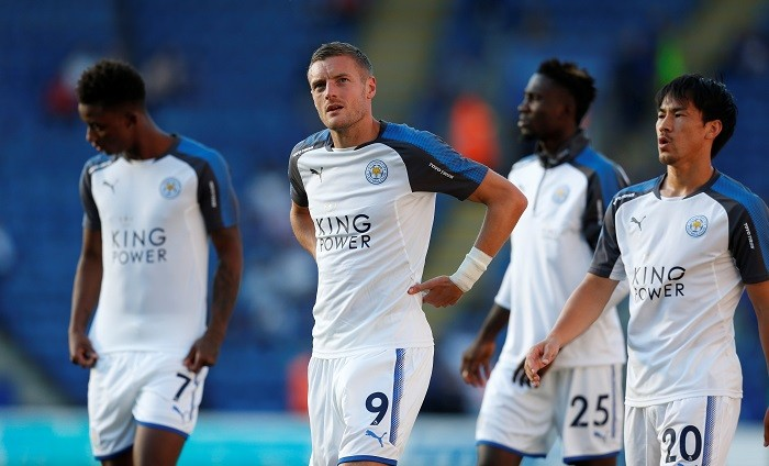 Jamie Vardy, Shinji Okazaki, Leicester City