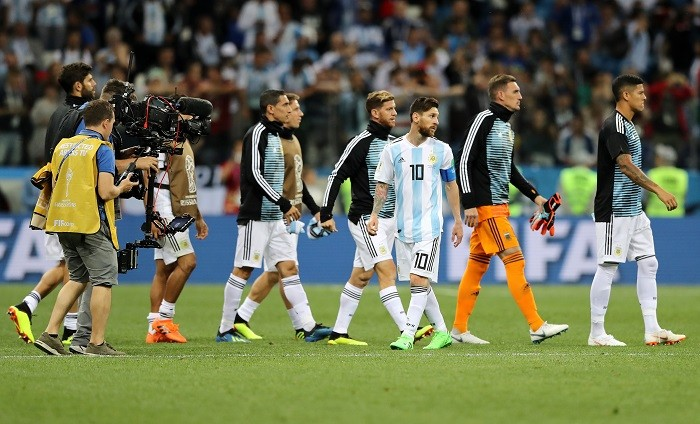 Lionel Messi Argentina Croatia