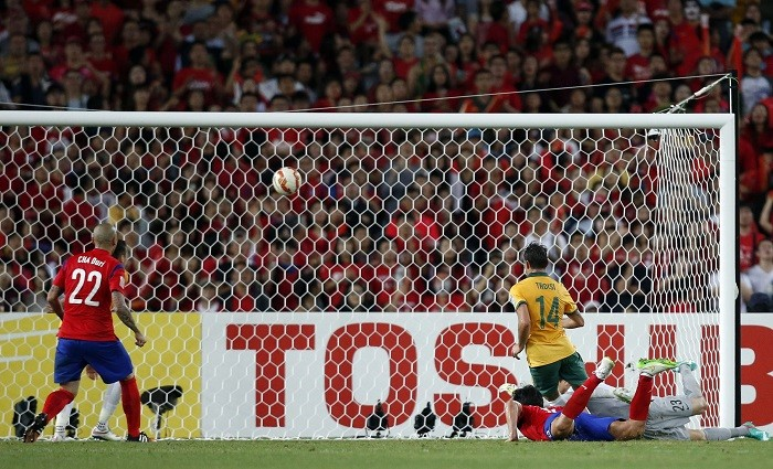 James Troisi Australia Asian Cup Final South Korea