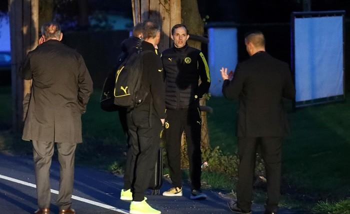 Borussia Dortmund, Thomas Tuchel, team bus, explosion, manager