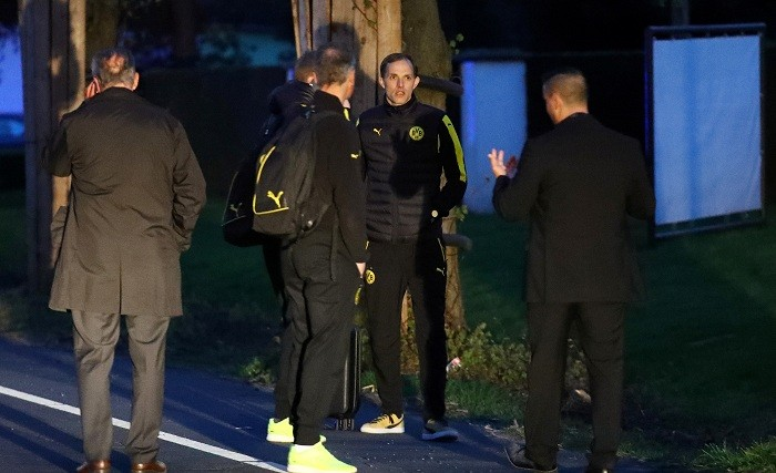 Borussia Dortmund, Borussia Dortmund bus explosion, Borussia Dortmund news, Thomas Tuchel, AS Monaco, Champions League, twitter reaction