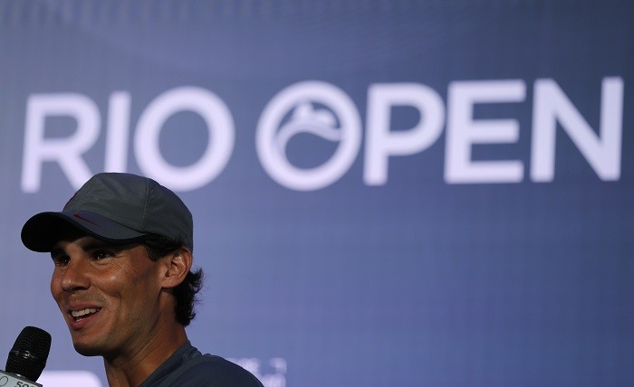 Rafael Nadal in Rio Open