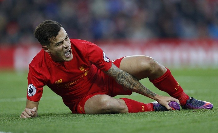 Philippe Coutinho's injury came at the wrong time for Liverpool.