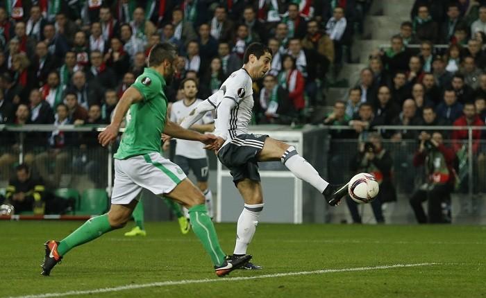 Henrikh Mkhitaryan, Manchester United, St-Etienne, Europa League, round of 32