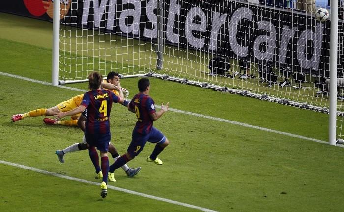 Barcelona Luis Suarez Ivan Rakitic Gianluigi Buffon Juventus Champions League Final