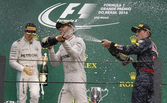 Rosberg Hamilton Verstappen