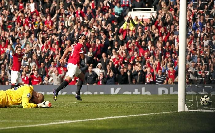 Everton Tim Howard Radamel Falcao Manchester United