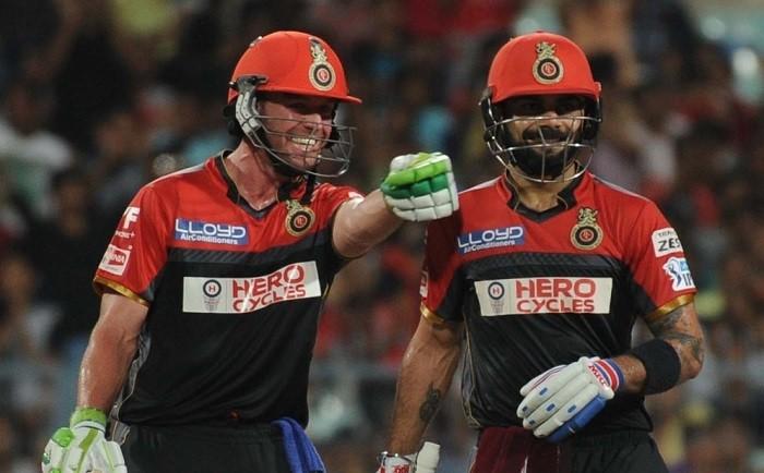 AB De Villiers, Virat Kohli, RCB, SRH, IPL 2017