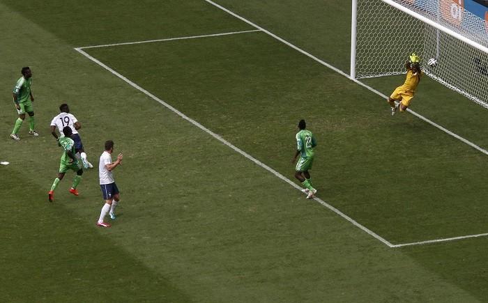 Paul Pogba France Vincent Enyeama Nigeria
