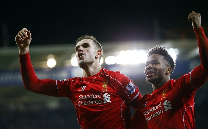 Raheem Sterling and Jordan  Henderson