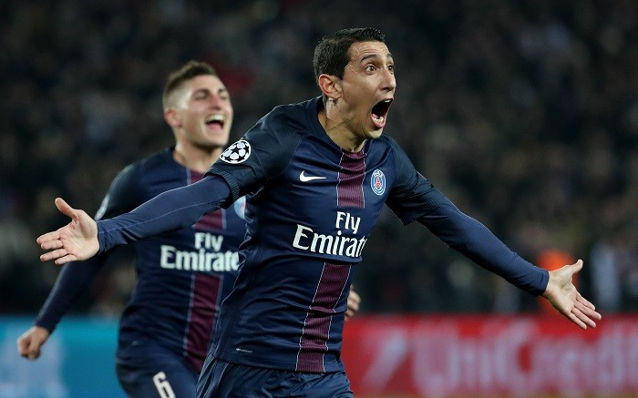 Angel Di Maria, PSG, Barcelona, Champions League, first leg