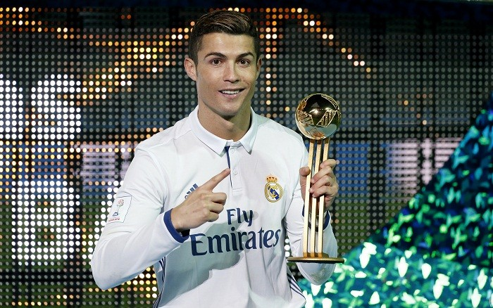 Cristiano Ronaldo, Ballon d'Or, Best Player of the Year, Real Madrid, Euro 2016, Champions League 2016. Club World Cup 2016