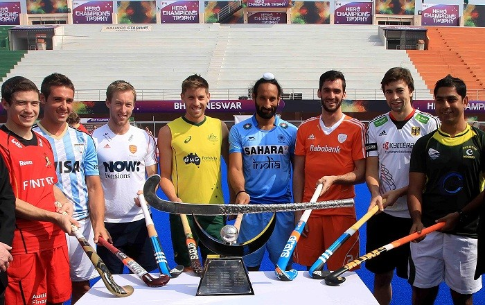 India Champions Trophy 2014 Sardar Singh Captains
