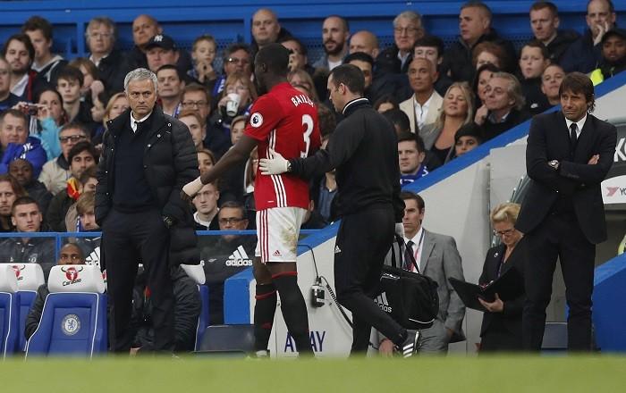Jose Mourinho Eric Bailly Manchester United Antonio Conte Chelsea
