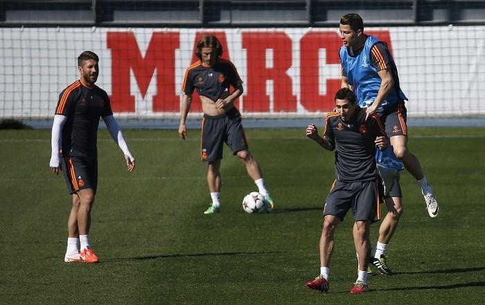Ronaldo Di Maria Ramos Modric Real Madrid