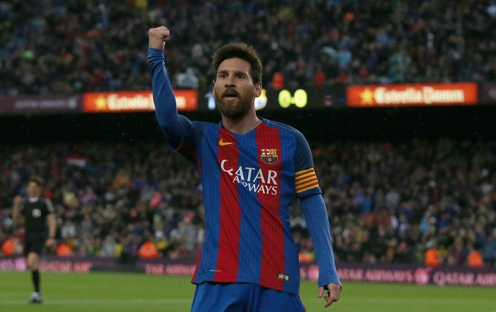Lionel Messi, Barcelona, Spanish Cup, final, Alaves