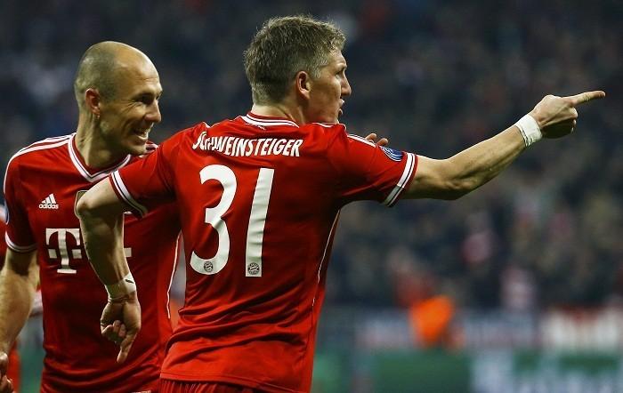Schweinsteiger Robben Bayern Munich