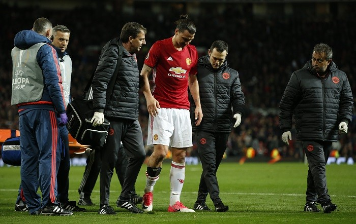 Zlatan Ibrahimovic, Manchester United, Europa League, Anderlecht, Quarterfinals