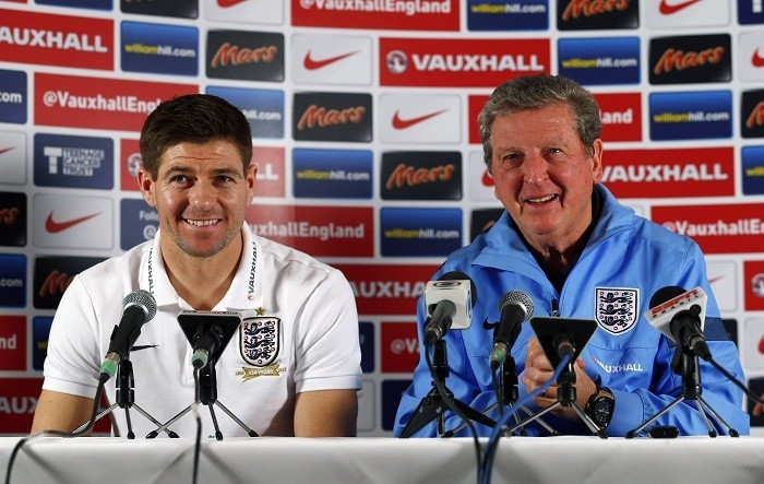 Steven Gerrard Roy Hodgson England