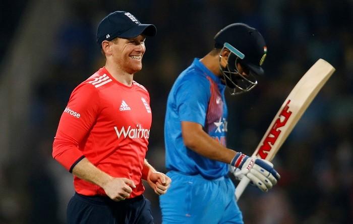 Eoin Morgan, England, Virat Kohli, India, 3rd T20