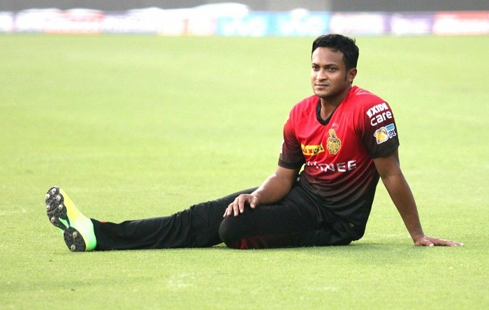 Shakib Al Hasan, KKR, IPL 2017, Sunrisers Hyderabad, Colin De Grandhomme