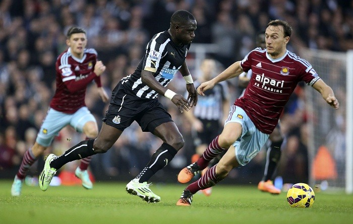 Moussa Sissoko Newcastle Mark Noble West Ham