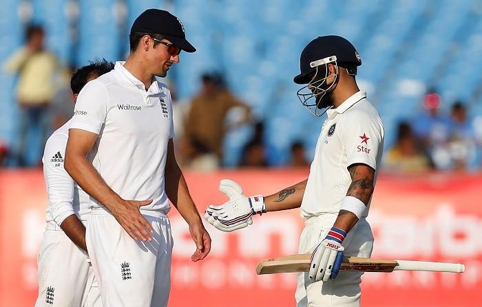 Alastair Cook England Virat Kohli India