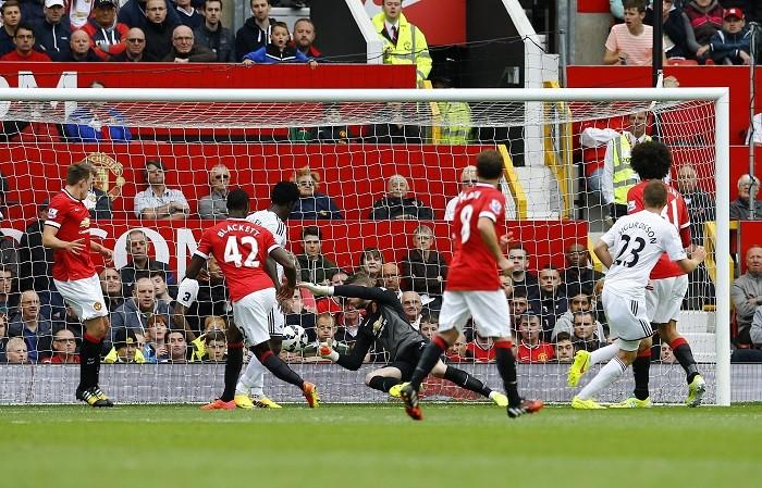 Manchester United Swansea Sigurdsson De Gea