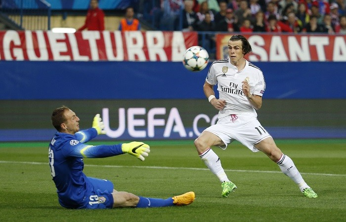 Gareth Bale Real Madrid Jan Oblak Atletico Madrid