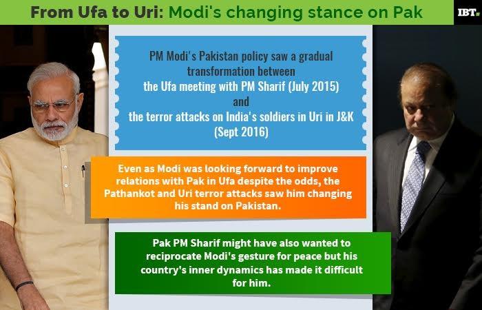 Narendra Modi government turns 3: From Ufa to Uri