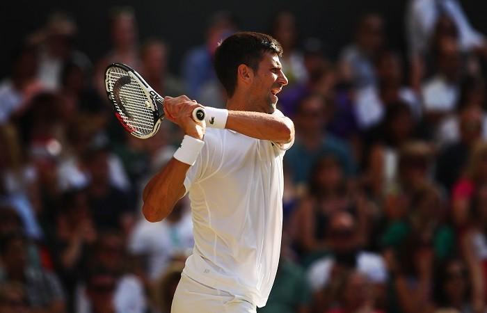 Novak Djokovic, Wimbledon 2017, men's singles, fourth round, Adrian Mannarino