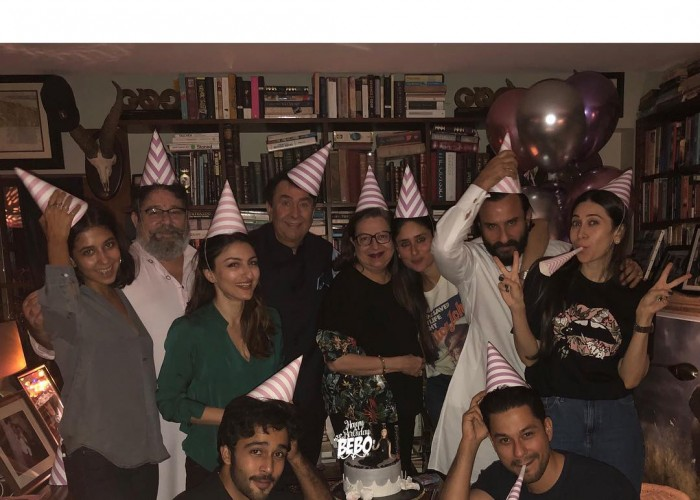Kareena Kapoor celebrates her birthday with Saif Ali Khan, Karisma