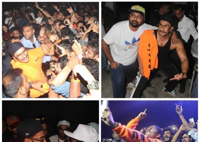 Ranveer Singh sets the stage on fire at rapper Divine's Gully Fest