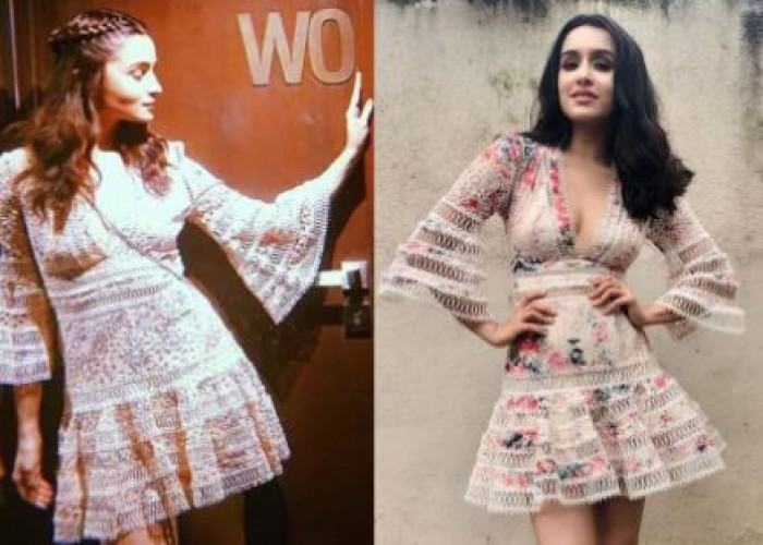 After Shraddha Kapoor, Alia Bhatt was seen sporting the same outfit recently