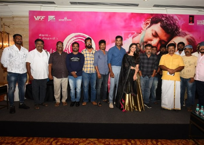 Celebs at Sandakozhi 2 press meet